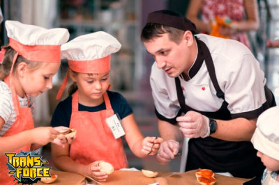 Мастер-класс по приготовлению бургеров